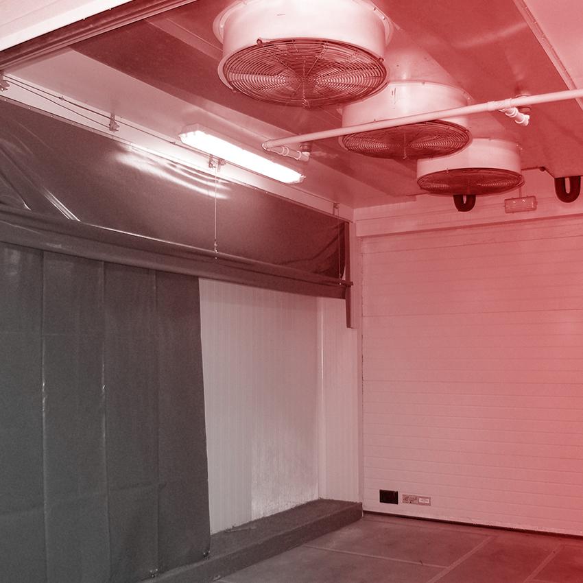 instalación de cuarto frío